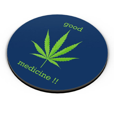 PosterGuy | Good Medicine | Weed Fridge Magnet Online India by Pooja Bindal