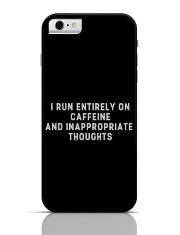 iPhone 6/6S Covers & Cases | I Run on Caffeine iPhone 6 / 6S Case Cover Online India