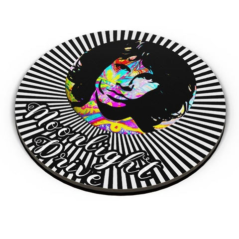 PosterGuy | Jim Morrison |Psychedelic Moonlight Drive Fridge Magnet Online India by Kickass Artworks