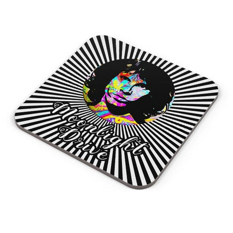 Buy Coasters Online | Jim Morrison |Psychedelic Moonlight Drive Coasters Online India | PosterGuy.in