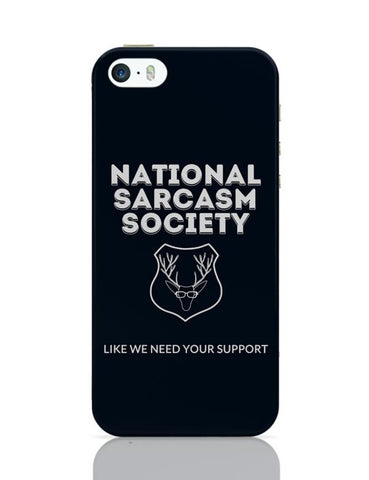 iPhone 5 / 5S Cases & Covers | national sarcasm society | iPhone 5 / 5S Case Cover Online India