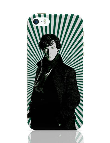 iPhone 5 / 5S Cases & Covers | Sherlock Holmes Illustration iPhone 5 / 5S Case Cover Online India