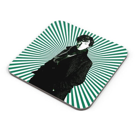 Buy Coasters Online | Sherlock Holmes Illustration Coasters Online India | PosterGuy.in