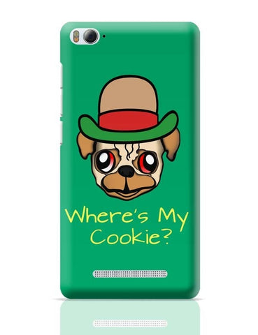 Xiaomi Mi 4i Covers | Where's My Cookie | Pug Life Xiaomi Mi 4i Case Cover Online India