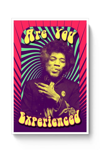 Posters Online | Are You Experienced | Jimi Hendrix Poster Online India | Designed by: Kickass Artworks