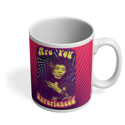 Coffee Mugs Online | Are You Experienced | Jimi Hendrix Coffee Mug Online India
