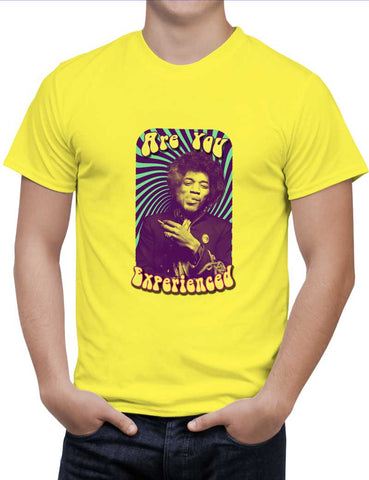 Buy Are You Experienced | Jimi Hendrix Woman T-Shirts Online India | Are You Experienced | Jimi Hendrix T-Shirt | PosterGuy.in