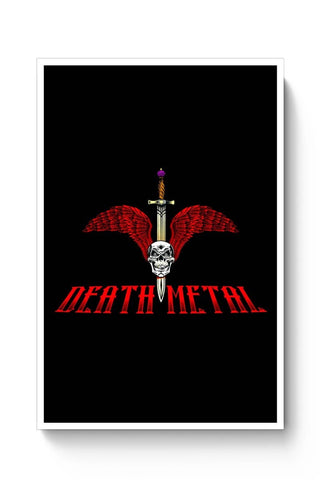 Posters Online | Death Metal Illustration Poster Online India | Designed by: Pooja Bindal