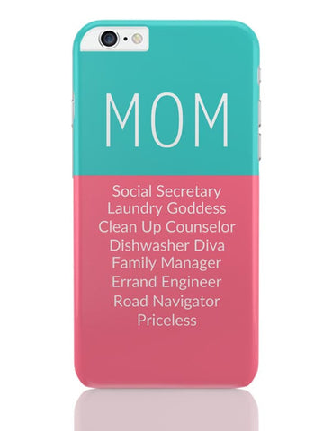 Mom Definition | Priceless | Mother's Day Gift iPhone 6 Plus / 6S Plus Covers Cases Online India