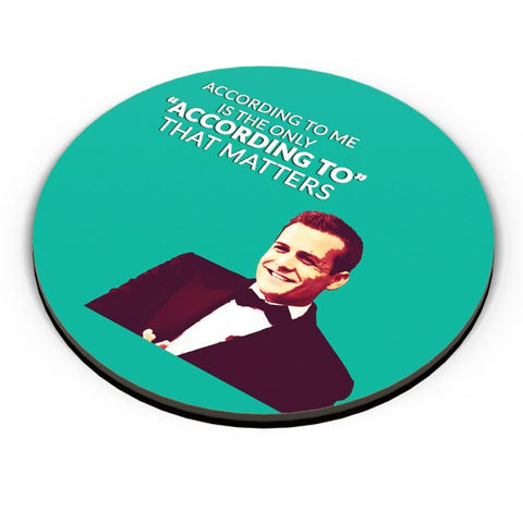 Harvey Specter Suits | According To Me Quote Fridge Magnet Online India