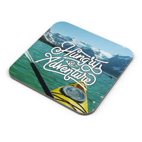 Hungry For Adventure | Motivational Coaster Online India
