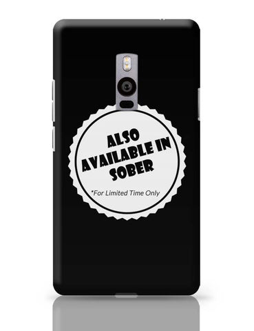 Also Available In Sober OnePlus Two Covers Cases Online India