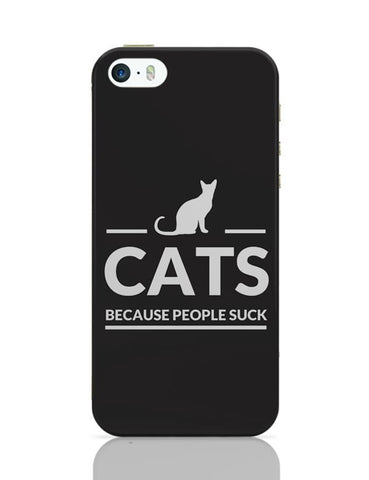 Cats | Because People Suck iPhone Covers Cases Online India