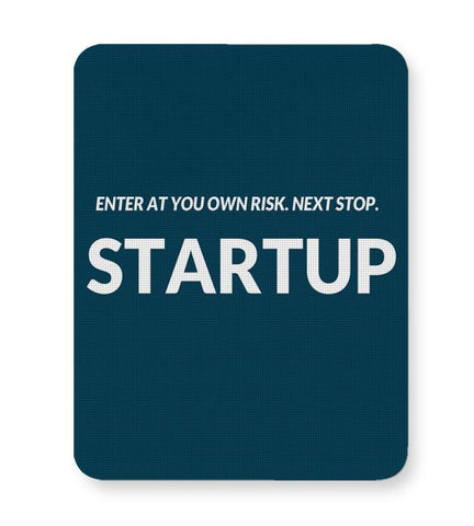 Enter At You Own Risk...Startup Mousepad Online India