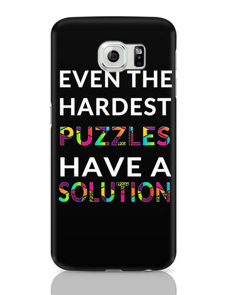 Even The Hardest Puzzles Have Solution Samsung Galaxy S6 Covers Cases Online India
