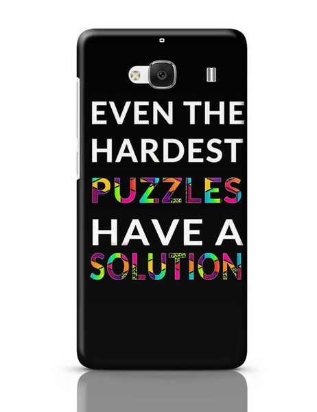 Even The Hardest Puzzles Have Solution Redmi 2 / Redmi 2 Prime Covers Cases Online India