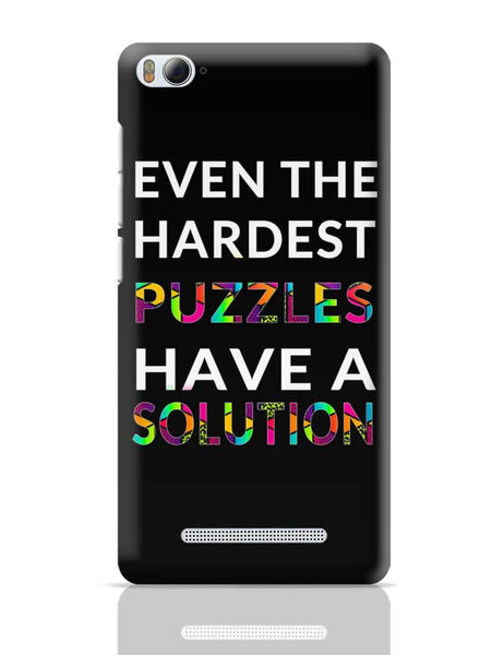 Even The Hardest Puzzles Have Solution Xiaomi Mi 4i Covers Cases Online India