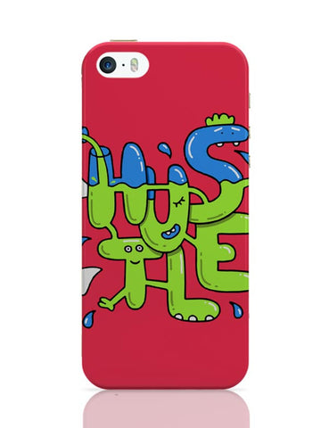 Hustle Quirky Illustration iPhone Covers Cases Online India