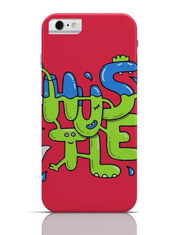 Hustle Quirky Illustration iPhone 6 6S Covers Cases Online India
