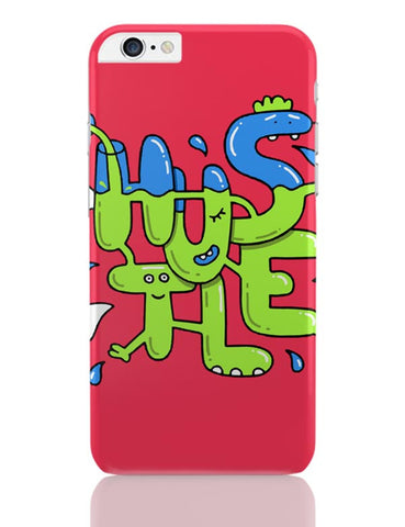 Hustle Quirky Illustration iPhone 6 Plus / 6S Plus Covers Cases Online India