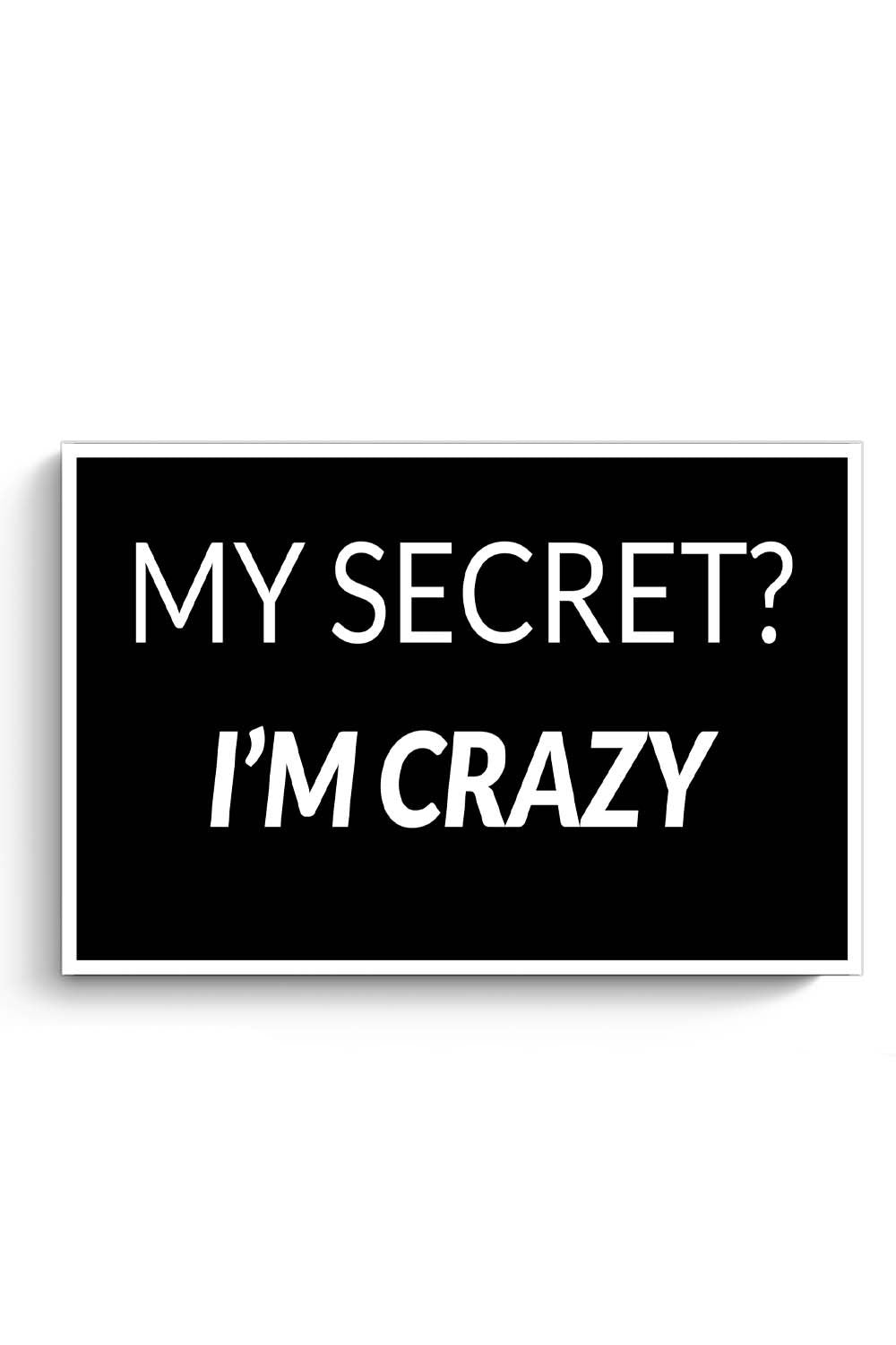 My Secret | I'M Crazy Poster