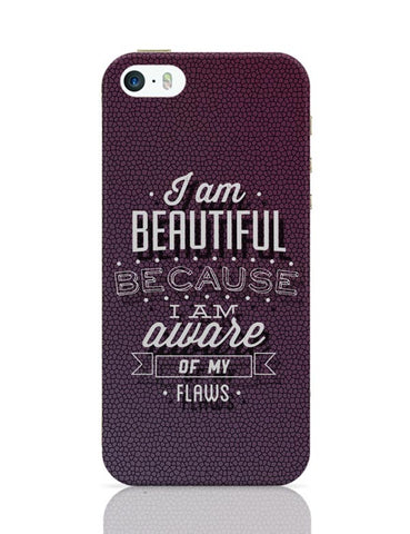 I Am Aware Of My Flaws iPhone Covers Cases Online India