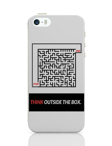 Think Outside The Box Illustration iPhone Covers Cases Online India
