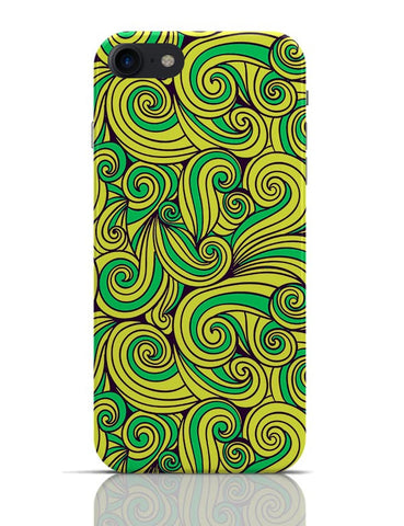 Wurly Swirly Quirky Pattern iPhone 7 Covers Cases Online India
