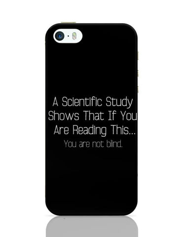 If Your Are Reading This You Are Not Blind iPhone Covers Cases Online India
