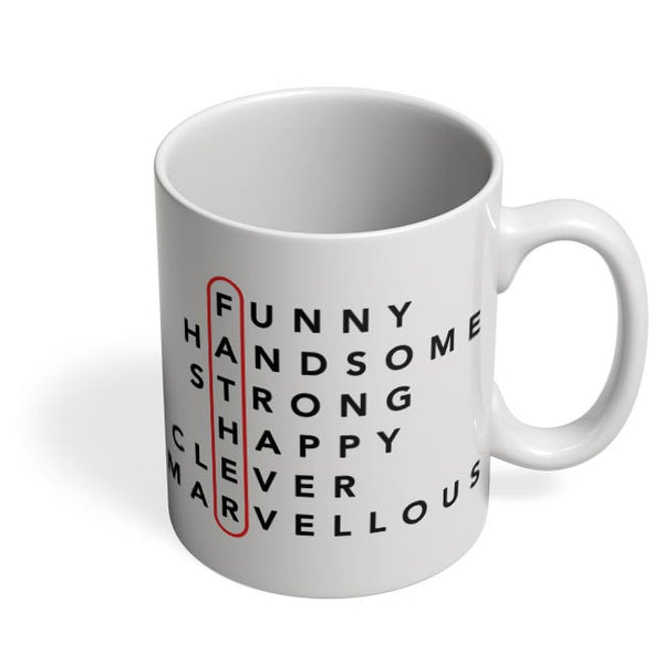 Father Abbreviation Coffee Mug Online India