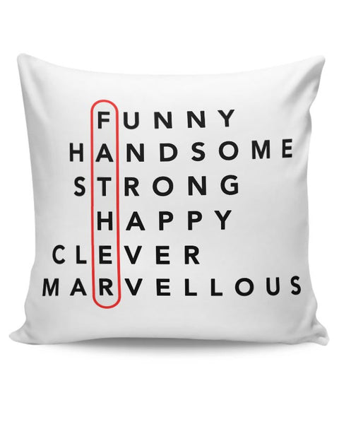 Father Abbreviation Cushion Cover Online India