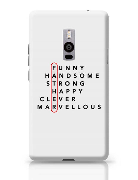Father Abbreviation OnePlus Two Covers Cases Online India