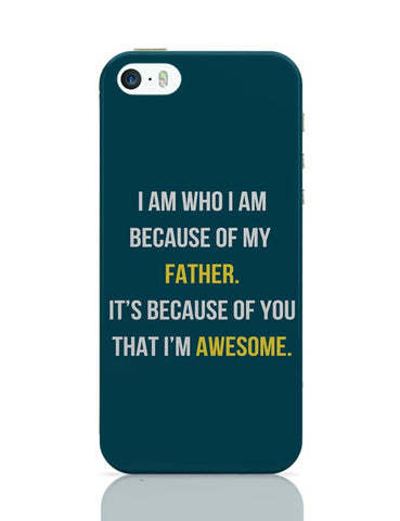 Father I'M Awesome iPhone Covers Cases Online India