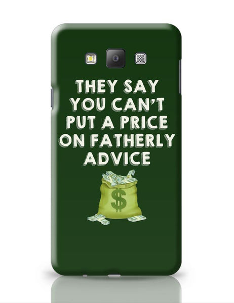 Fatherly Advice Samsung Galaxy A7 Covers Cases Online India