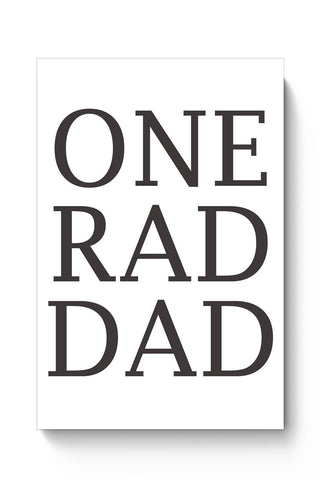 One Rad Dad Poster Online India