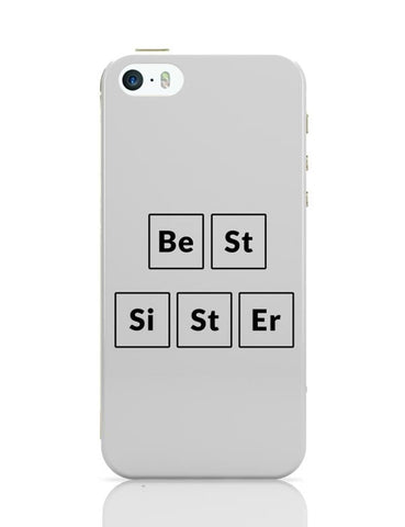 Best Sister Periodic Table iPhone 5/5S Covers Cases Online India