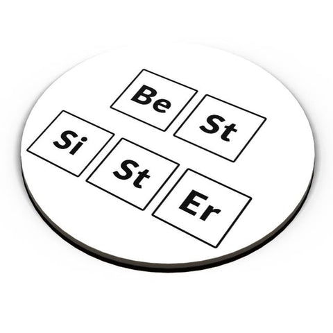 Best Sister Periodic Table Fridge Magnet Online India