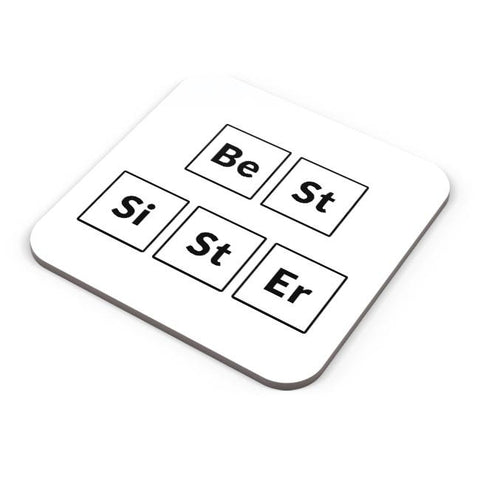 Best Sister Periodic Table Coaster Online India