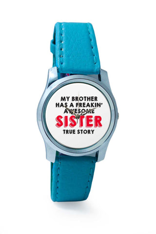 Women Wrist Watch India | fRAKIN aWESOME sISTER Wrist Watch Online India