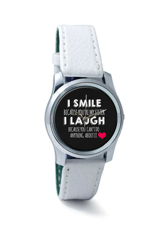 Women Wrist Watch India | i smile i laugh Wrist Watch Online India