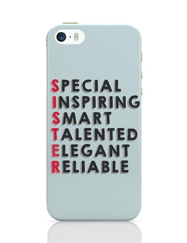 Sister Abbreviation iPhone 5/5S Covers Cases Online India