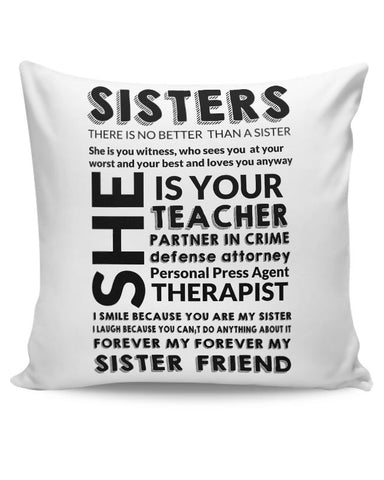 Sister Descriptiion From A Brother Cushion Cover Online India