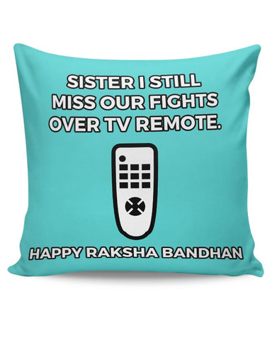 Fights Over Tv Remotes | For Sisters Cushion Cover Online India