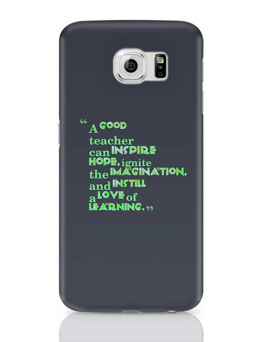 A Good Teacher Quote Typo | For Teachers Samsung Galaxy S6 Covers Cases Online India