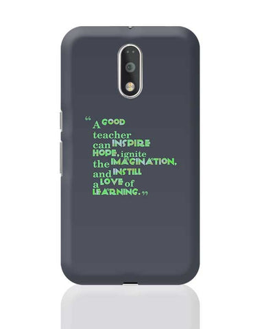 A Good Teacher Quote Typo | For Teachers Moto G4 Plus Online India