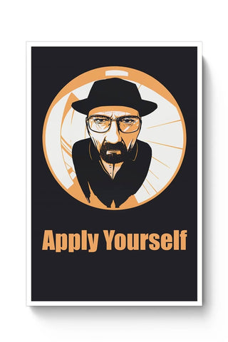 Apply Yourself | For Teacher Poster Online India