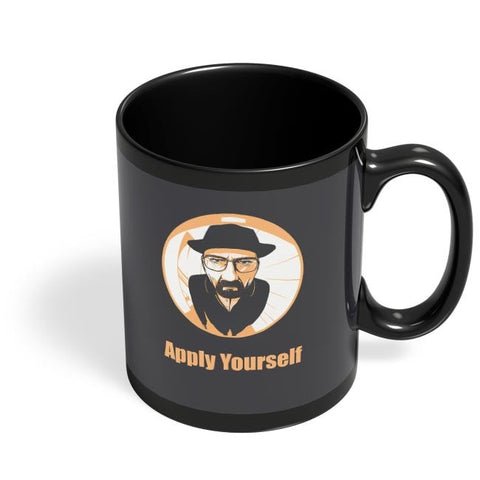 Apply Yourself | For Teacher Black Coffee Mug Online India