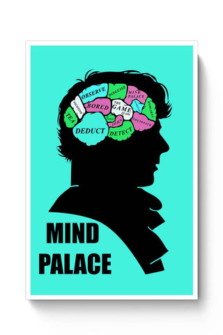 Buy Mind Palace Illustration | Sherlock Holmes Poster