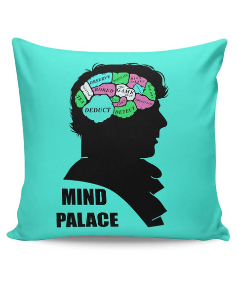 Mind Palace Illustration | Sherlock Holmes Cushion Cover Online India