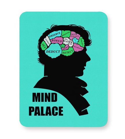 Mind Palace Illustration | Sherlock Holmes Mousepad Online India